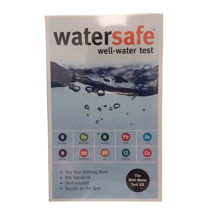 Watersafe Watersafe Wsfws425w Well Water Test Kit Wsfws425w