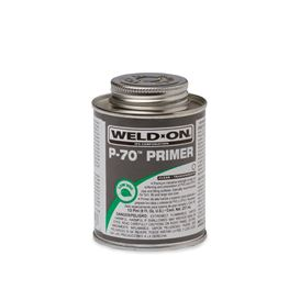 Weld-On 10226 P-70 Clear Primer Half Pint primer, glue, pvc cleaner, hot glue, pvc primer, pipe primer, P-70, p70, Weld On, weldon, 10226