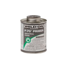 Weld-On 10224 P-70 Clear Primer Pint primer, glue, pvc cleaner, hot glue, pvc primer, pipe primer, P-70, p70, Weld On, weldon, 10224