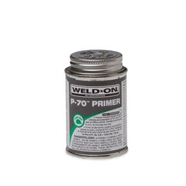 Weld-On 10228 P-70 Clear Primer Quarter Pint primer, glue, pvc cleaner, hot glue, pvc primer, pipe primer, P-70, p70, Weld On, weldon, 10228