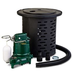 Zoeller 108-0001 Crawl Space Pump System w/ Hose Kit 115V zoeller 108, 108-0001, crawl space pump, confined space dewatering, M53, dewatering