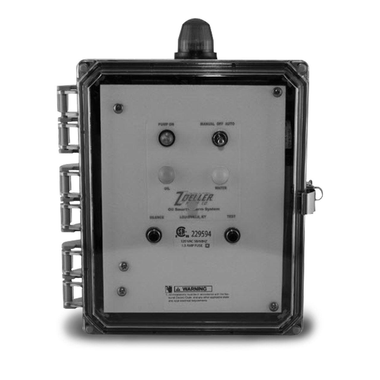 zoeller 10 2149 oil smart simplex control panel 115v 1ph ASSA ABLOY Wiring Diagrams
