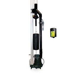 "Zoeller 503-0007 Model 503 ""Home Guard Max"" Water Powered Backup Pump System w/Alarm home guard max,home guard max with alarm"