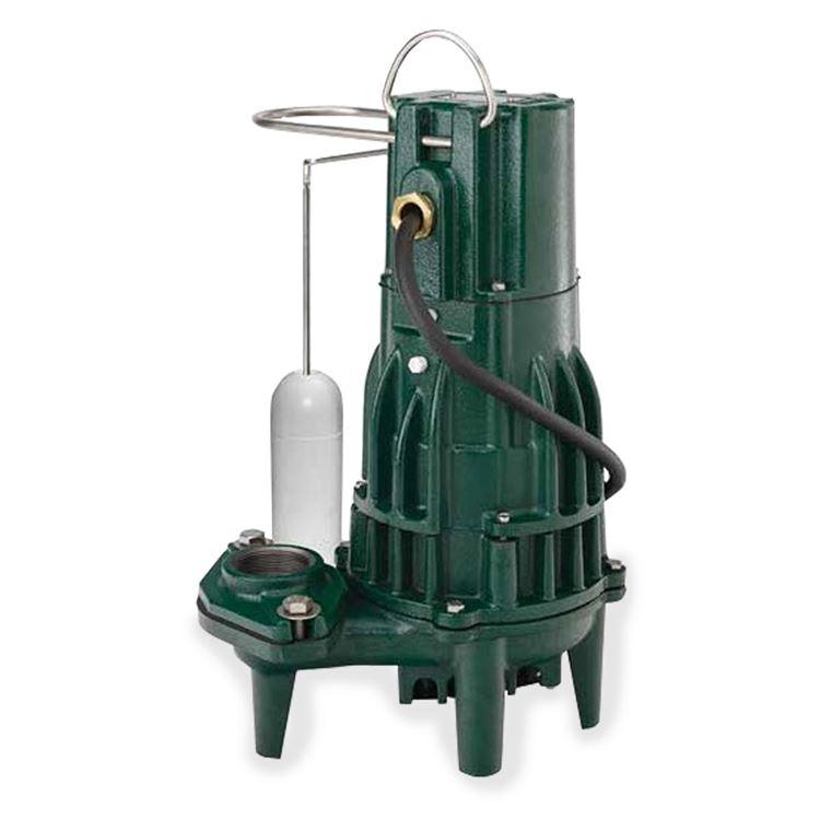 zoeller - zoeller 163-0001 model m163 high head effluent pump 0 5 hp 115v  1ph 20' cord automatic #zlr163-0001