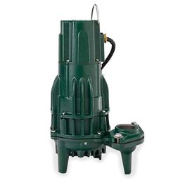 Zoeller 186-0008 Model I186 High Head Effluent Pump 1.5 HP 200V 1PH 20 Cord Nonautomatic effluent pump, high head pump, high head,double seal, double seal pump, Flow-Mate, 186, Model 186, Zoeller Model 186,