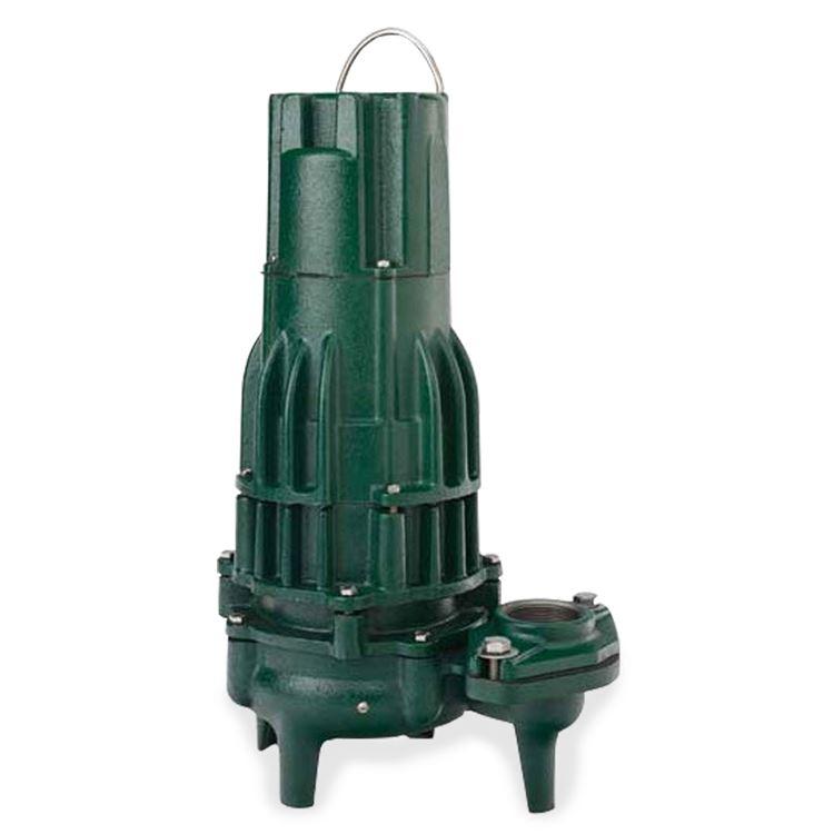 Zoeller Zoeller 4293 0004 Model E4293 High Head Sewage Dewatering Double Seal Pump 1 0 Hp 230v 1ph 20 Cord Manual Zlr4293 0004