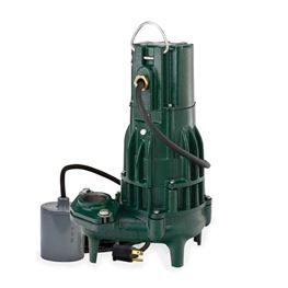 Zoeller 295-0040 Model WD295 High Head Sewage Dewatering Pump 2.0 HP 230V 1PH 20 Cord Automatic  zoeller WD295, zoeller WD295, WD295, Sewage Pump, sewage ejector pump, dewatering pump, large sump pump, effluent pump,hydromatic effluent pump, septic pump