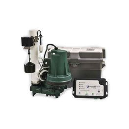 Zoeller 508-0006 AquaNot® Spin 508/M53 Propak Battery Backup System 12VDC  zoeller 508, 508, 508-0006, 12 Volt, 12 volt pump, Basement sentry, basement sentry I, sump pump, backup pump, basement pump, ZLR508-0006