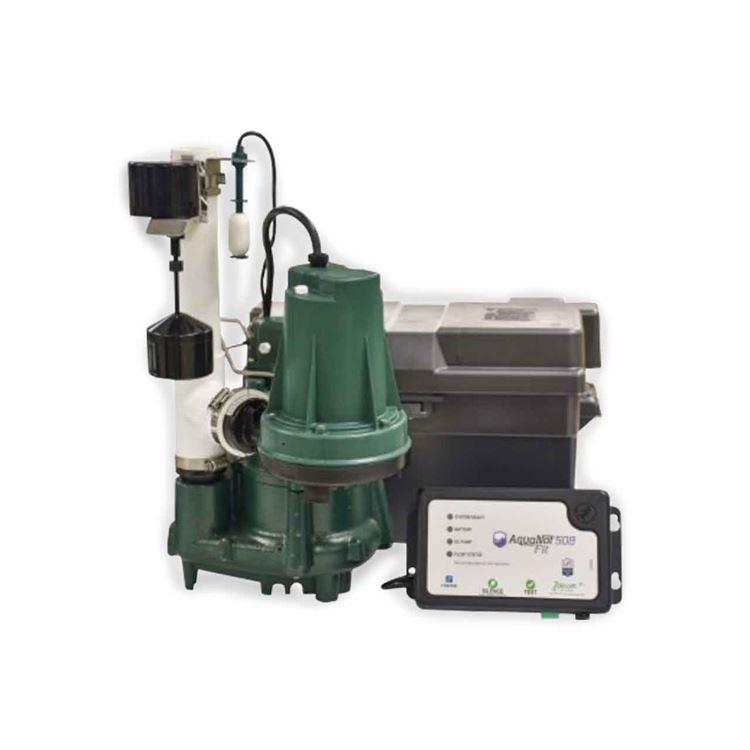 Zoeller Zoeller 508 0007 Aquanot Spin 508 M98 Propak Battery Backup System 12vdc Zlr508 0007
