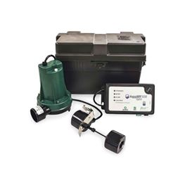 Zoeller 508-0005 AquaNot® Spin 508 Battery Backup System 12VDC zoeller 508, 508, 508-0005, 12 Volt, 12 volt pump, Basement sentry, basement sentry I, sump pump, backup pump, basement pump, ZLR508-0005