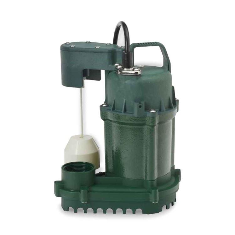 Zoeller Zoeller 73 0001 Model M73 Dewatering Pump 0 33 Hp 115v 1ph 9 Cord Automatic Zlr73 0001