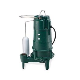 "Zoeller 807-0001 Model M807 ""Shark"" Fractional HP Grinder Pump 1.0 HP 115V 1PH 15 Cord Automatic  grinder pump, the shark, grinder, residential grinder, pump, Model 803, Zoeller M803, Model 805, Zoeller Model 807"