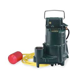 Zoeller 2098-0006 Model BE2098 High Temperature Submersible Pump 0.5 HP 230V 1PH 10' VLFS submersible pump, dewatering pump, high temperature pump