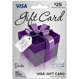 $25 Prepaid Visa Debit Card